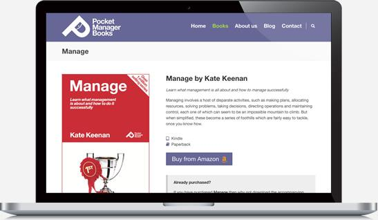 Pocket Manager Books Website